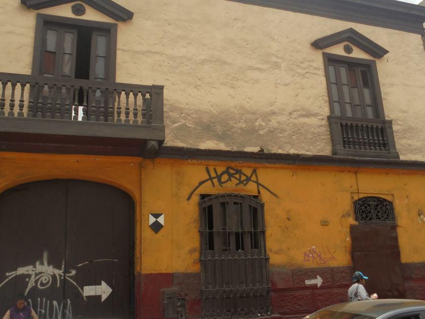 Altes Haus in Lima