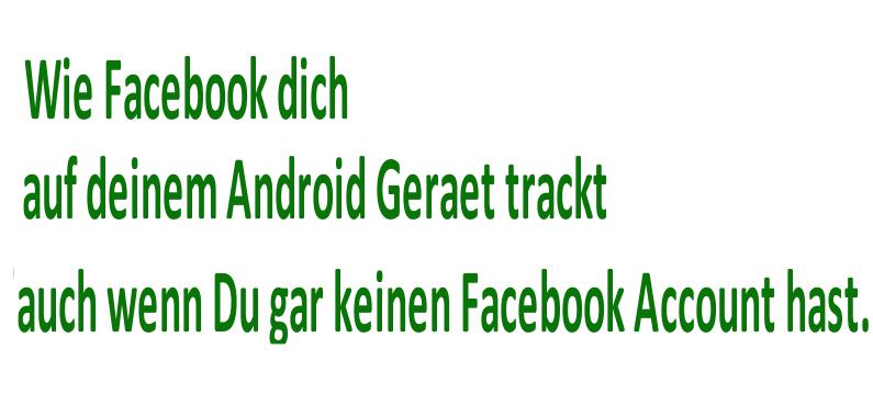 #35c3: Wie Facebook Dich auf Deinem Android-Gerät trackt. Auch wenn Du gar keinen Facebook-Account hast