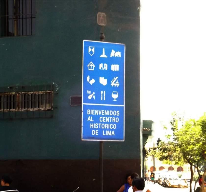 Zentrum von Lima.