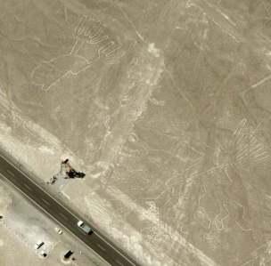 Nasca Linien - und Nazca Figuren