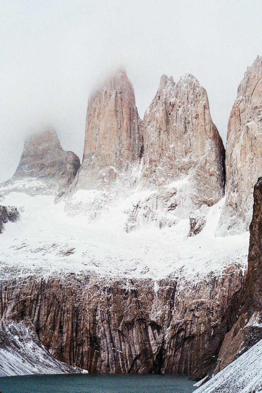 mountains nature analog camera adventure