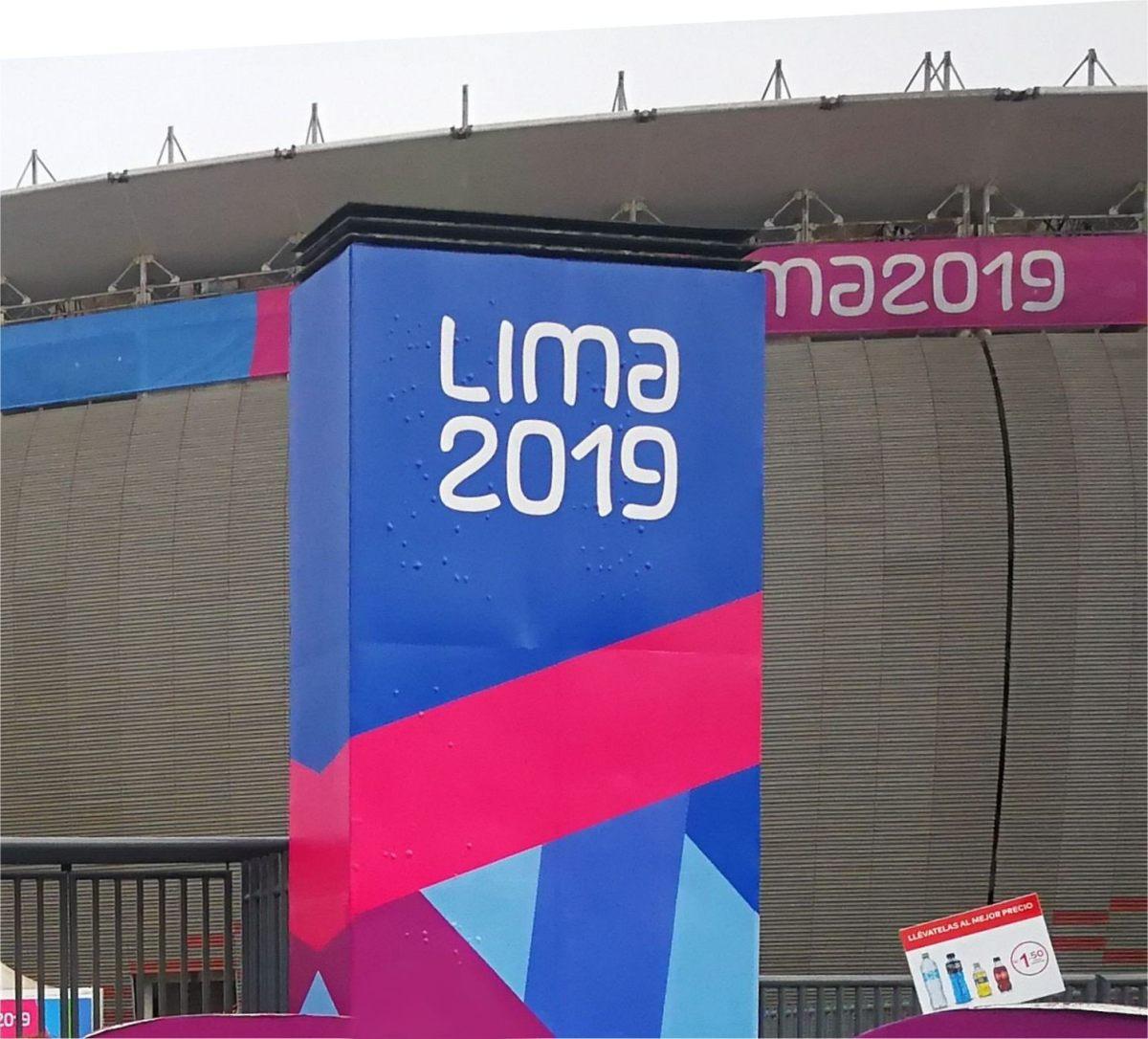 Panamerikanische Spiele zur Zeit inLima.