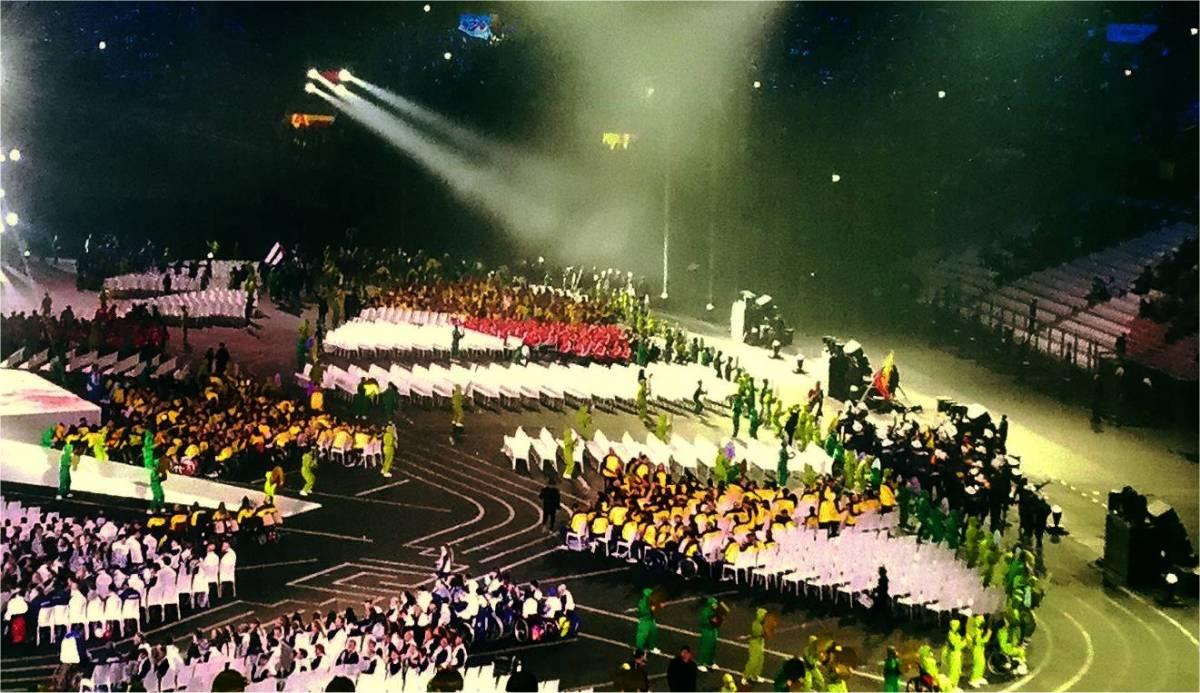"""""""Para Panamericanos 2019""""  > Fotos von der Eröffnung der Panamerikanischen Spiele inLima."""