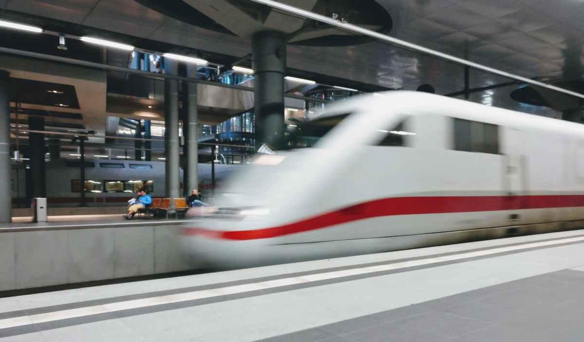 IC intercity Zug DB