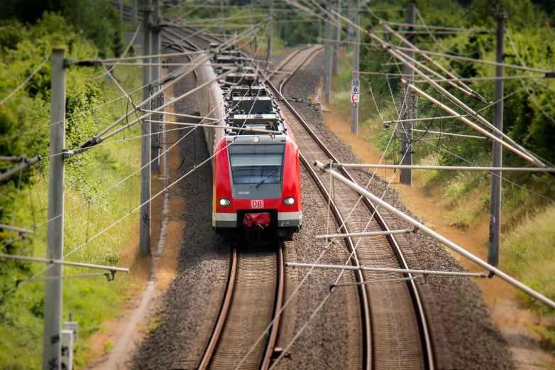 train railway miniature transport