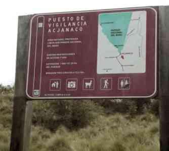 Kontrollstation Manu Nationalpark