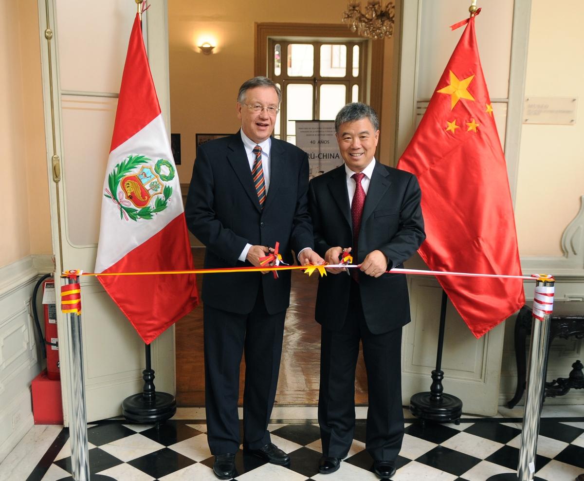 Zu den peruanisch-chinesischen Beziehungen