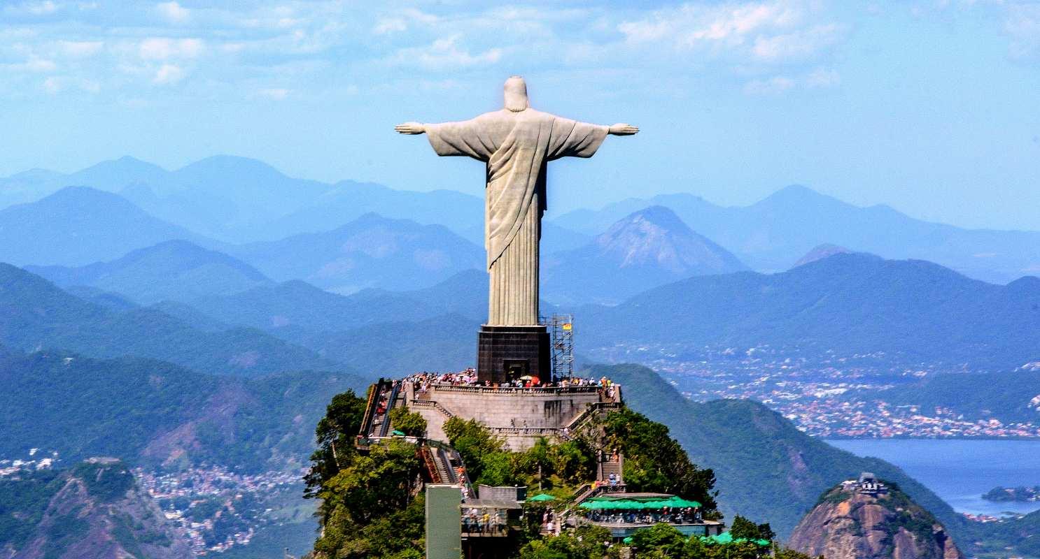 Christus Erlöser Statue in Rio.