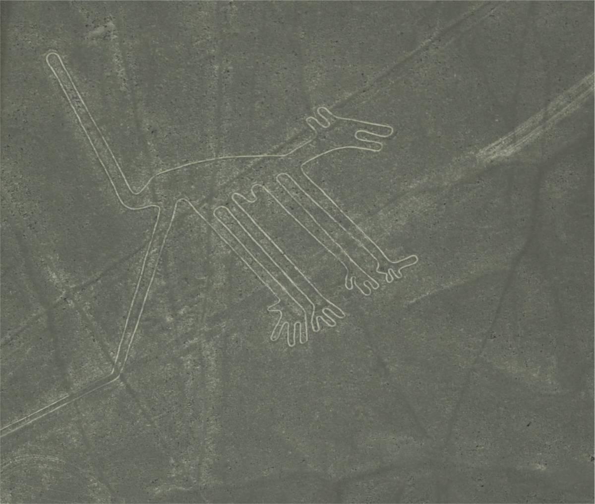 Maria Reiche die Forscherin und Beschützerin der Nazca-Linien inPeru.