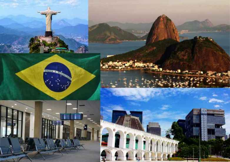 Sehenswürdigkeiten Rio de Janeiro.