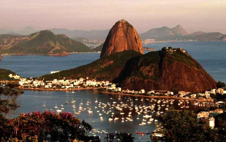 Rio de Janeiro Bucht.