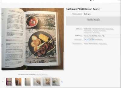 Peru das Kochbuch