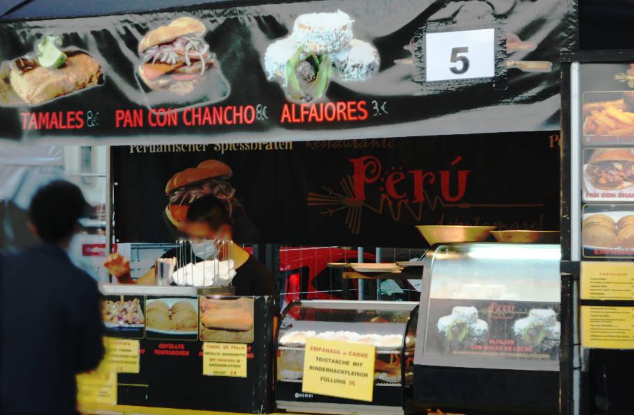 Peruanische Gerichte.