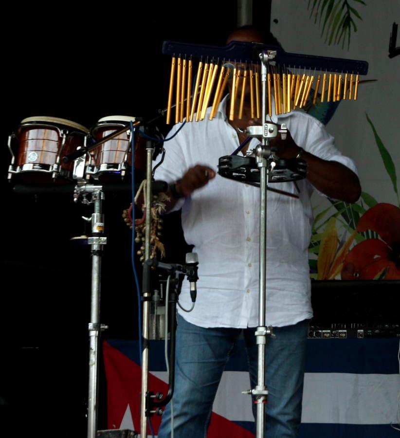 Südamerikanische Musik und Musikinstrumente.