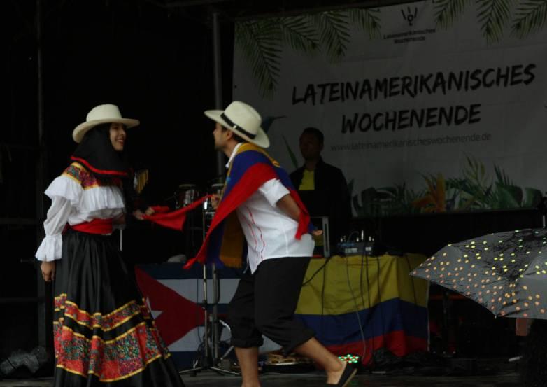 Kolumbianischer Paartanz.