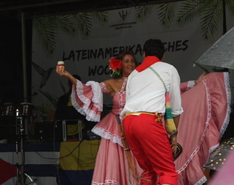 Tanzkostüme Südamerika.