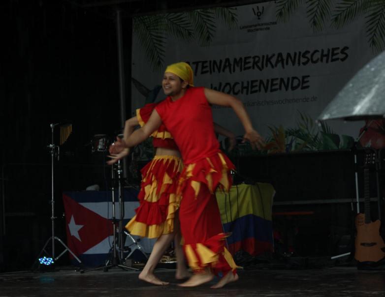 Südamerikanischer Tanz.