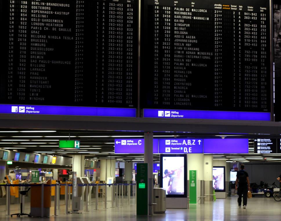 Frankfurt Flughafen (Terminal)