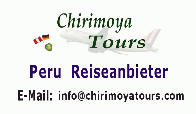 Reiseanbieter Chirimoya Tours.